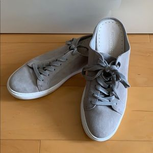 Kenneth Cole Kingsley Grey Suede Mule Sneakers